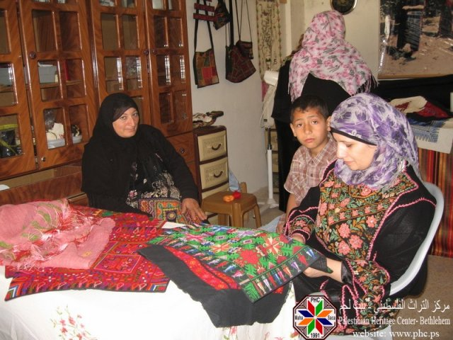 Women that help produce the Hand Made Crafts