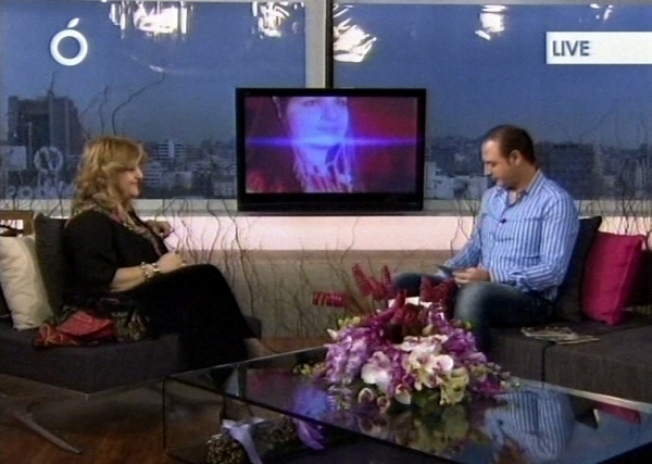 Interview with maha saca on OTV in Lebanon