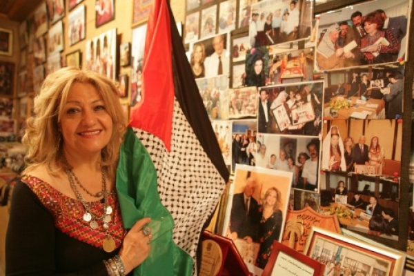 Director of Palestinian center laments corruption of national icon.
